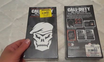 Call of Duty: Black Ops – Free-For-All Card Game Review (Released: 2018)