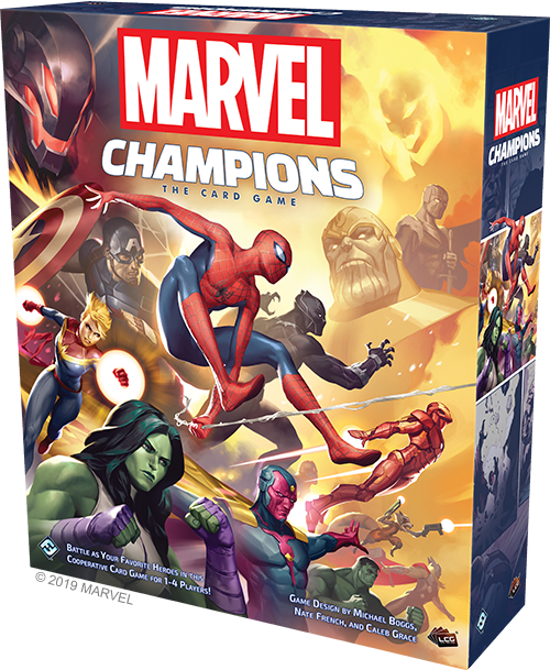 Marvel Champions: The Card Game Review (2019)