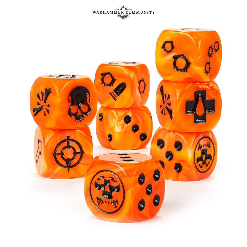 Dark uprising Dice