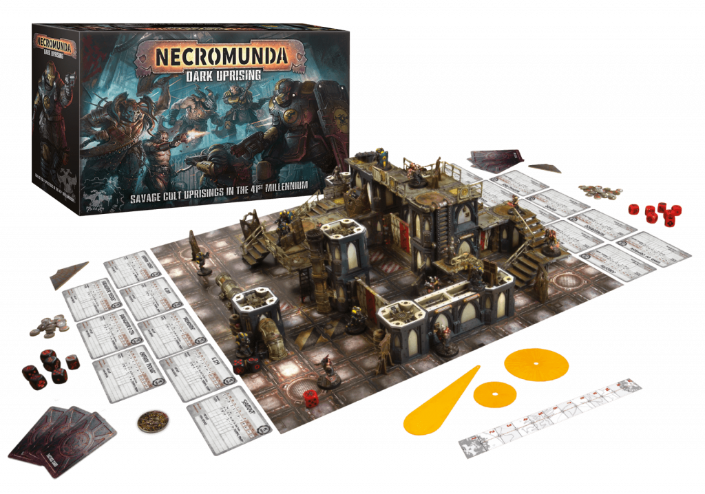 Necromunda Dark Uprising Review: Whats in The Box