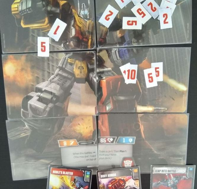 Transformers Card Game